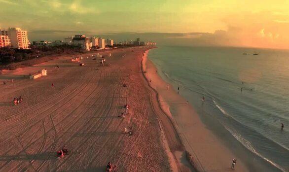 Drone video - Miami Beach
