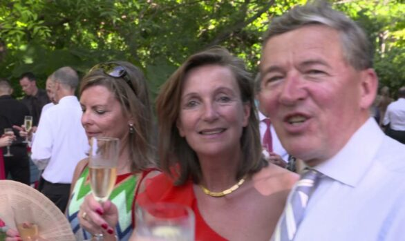 Judy and Tony's wedding